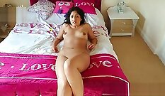 Big Tits Indian Housewife Gets Fucked Hard and Creampied