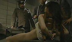 Japanese nurse awesomezing the patients hairy pussy