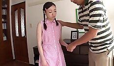 Cum tribute to amazing and young Japanese girl