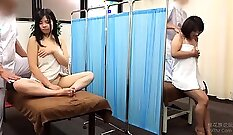Babe gets a sex massage from her manager