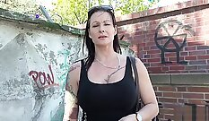 Casting German Milf Fingered Up and Pounded