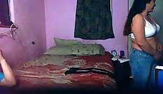 Amazing Mexican prostitute and fucked hard