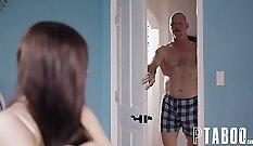 Anna fucks as step dad watches