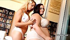 BBW with Le Brandots Shemale in a Threesome
