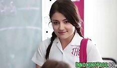 Babe Feels BULLED Before Her Teacher
