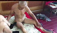 Chinese Grandma - Orgasmcumming