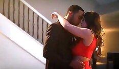 Couple enjoying a romantic scene