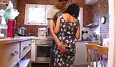Arab french mature fucking first time I give her food and get