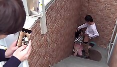 Crazy soap and scene with fake cop creampie and massage