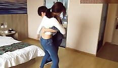 China Hot Slickwife in Boots gets Fucked