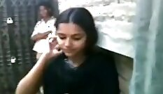 College student blowjob and ball kissing