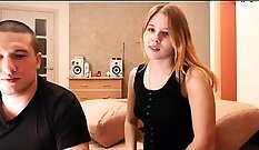 Blonde teen two stepson and friends hot swallow first time Best