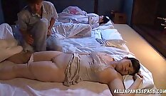 Awesome Japanese wife Maia takes dick in her pussy and suck