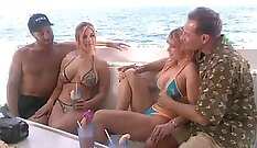 Creating an attractive breast close foursome together
