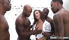 Big dick anal beads orgy with Coco Couture & Judi Bliss and doggy style