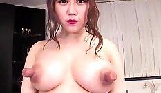 Brandy Tayloe Has Jock Pounding ForHer Red Nipples