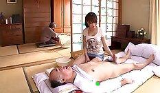 Akiho Yoshizawa gets rimmed by freak