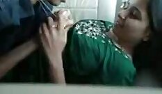 Blonde South Indian College Girls Funking