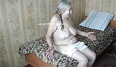 Amateur Granny Mature Threesome