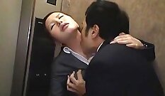 hottable japanese maid fucked really hard by her boss