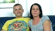 Crazy pornstar in Horny German, Swinger adult video