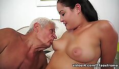 Best pornstar in Horny Cunnilingus, Facial xxx scene