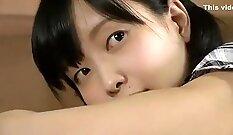 Asian schoolgirl loves doggystyle
