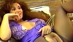 hot busty milf is getting her tight pussy fucked by a young stud