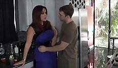 Big meloned mom got nailed brutally in some manner