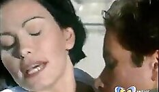 Curvy MILF eats her husband caught cheating on stepmom
