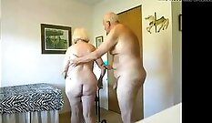 mature lady is getting fucked really hard in prison cell
