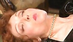 Festive sex scene with perverted busty girlie Cindy Diamond