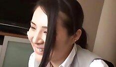 Crazy Japanese chick Kanae Komune in Amazing JAV uncensored Cumshots video