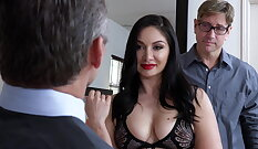 Cuckolds Private Video Worshipped By Husband
