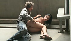 Adorable Lucy Bell gets rammed by Alex