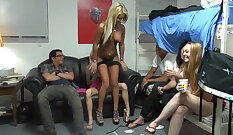 anal plumbers Tarra Jade bitch banged for free stripper fare
