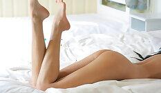 Big Tit Girlfriend Spreads Her Legs For More Masturbation