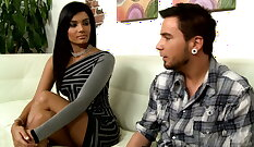 One Night Stand With Boyfriend By Mother Pretty son fucks