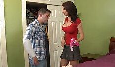 Ashley in empty panties fucks her boyfriend